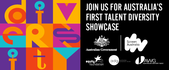 Equity Foundation Diversity Showcase Logo featuring the tagline join us for Austria's first talent diversity showcase